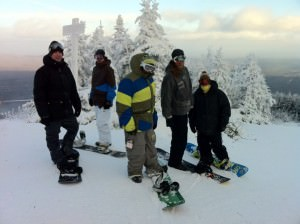 Crew at Stratton