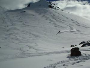 snowboard tracks, Le Parva