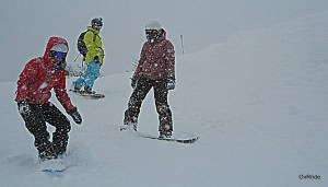 group snowboarding Bariloche 2012