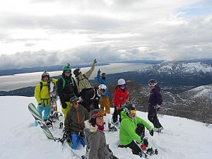 group shot, Bariloche back Country 2012