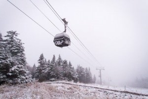 Killington gondola on 10/8/12