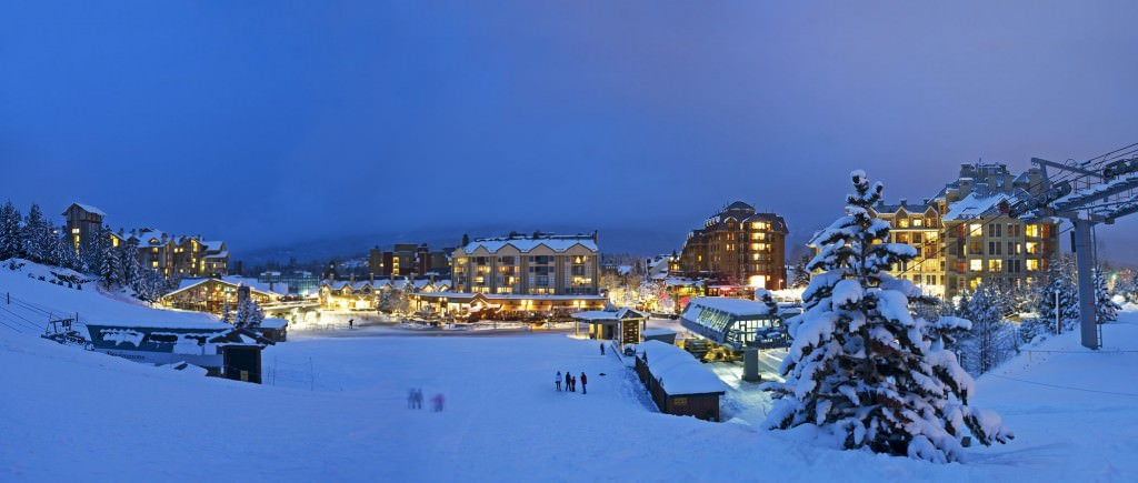 Whistler Village by David McColm