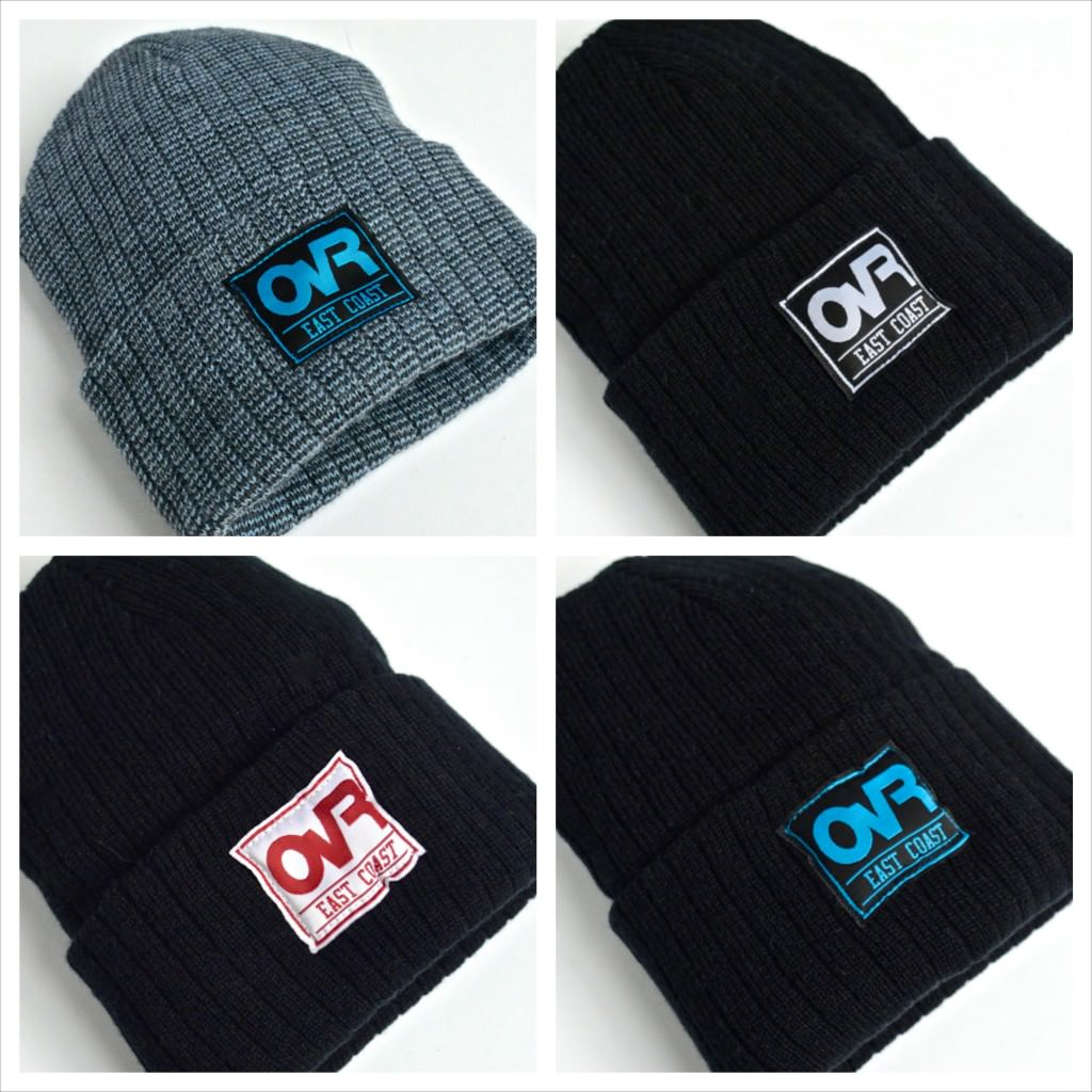 OvR Fold Over Beanies Color Collection