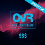 Gift Winter! OvR Gift Certificates are Here
