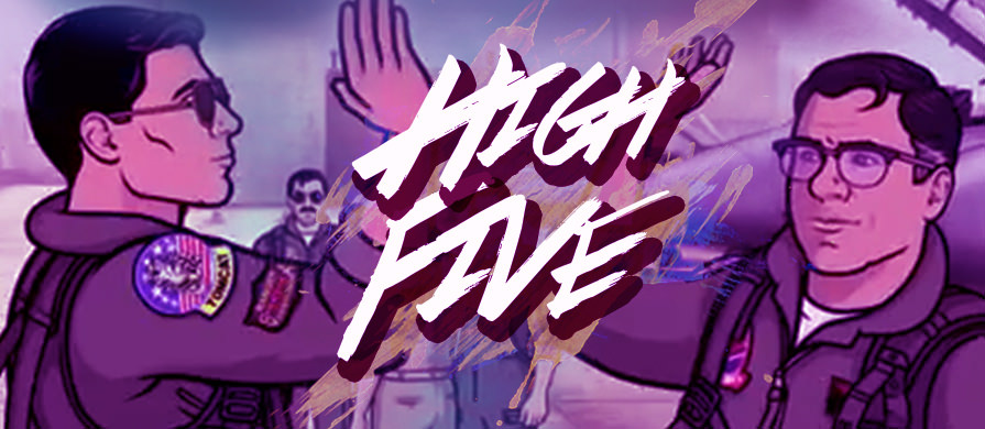 Time to High Five!!!