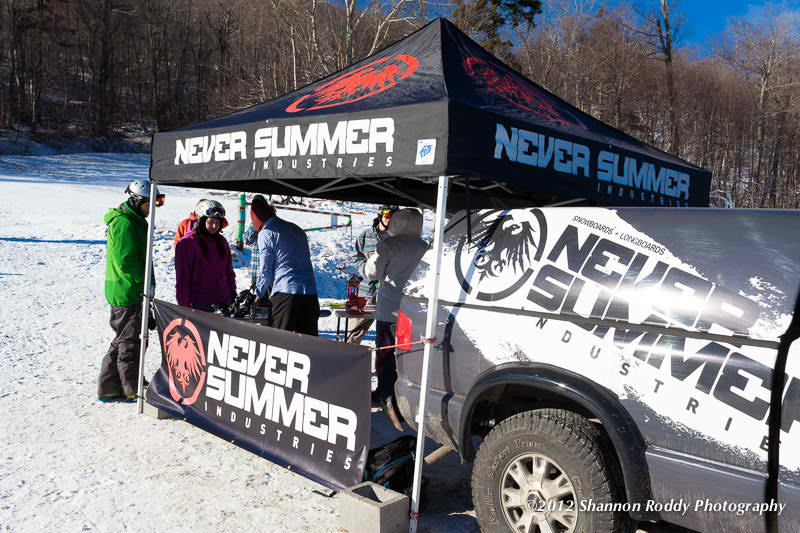 Never Summer Demo tent