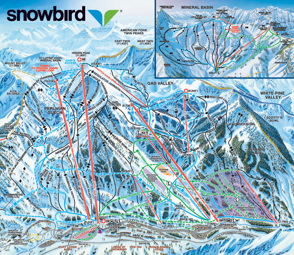 Snowbird_Map
