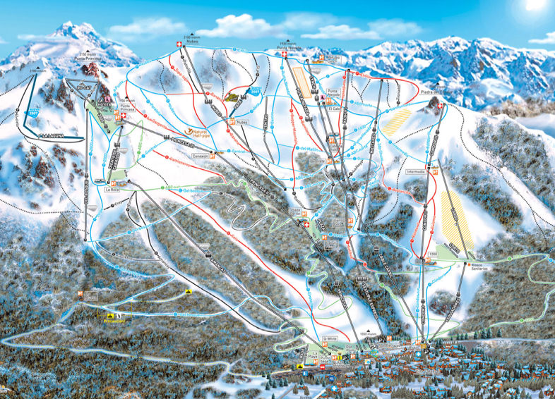 Trail-map-for-Bariloche_Argnetina_ski_resort