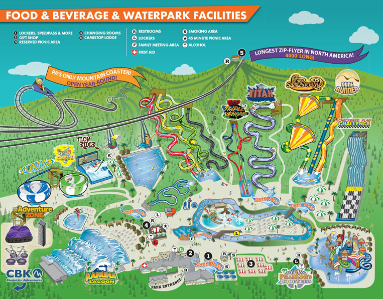 Camelbeach Map