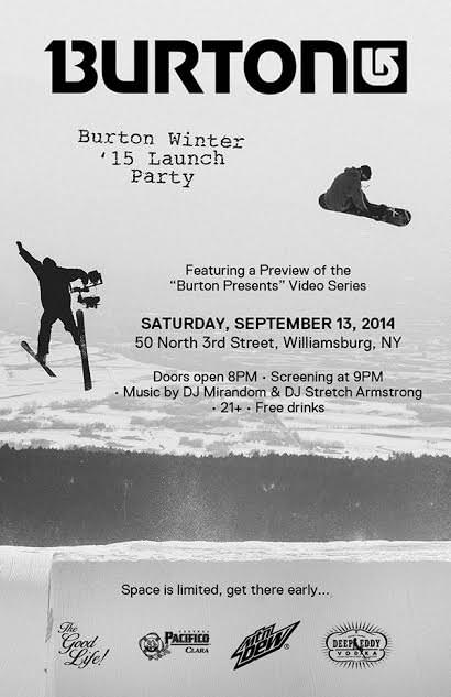 Burton Presents Premiere