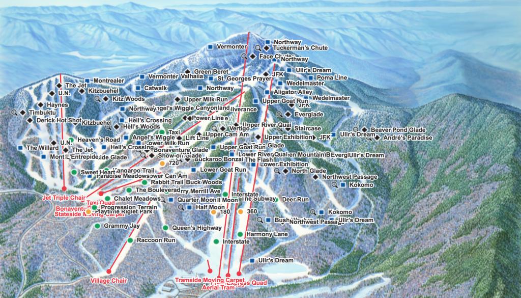 Jay Peak Trails