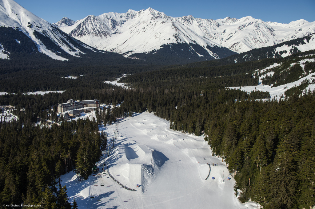 The Hotel Alyeska and Valley