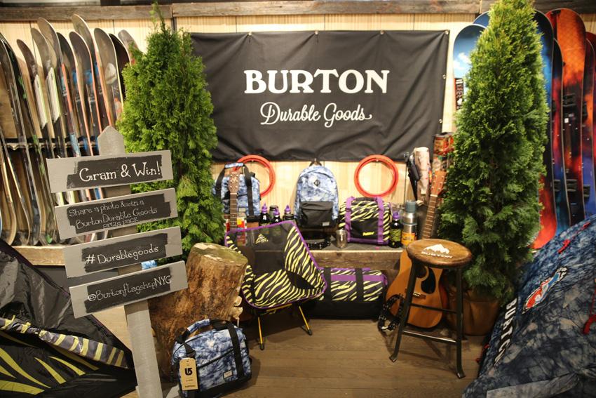 Burton Camp On Event