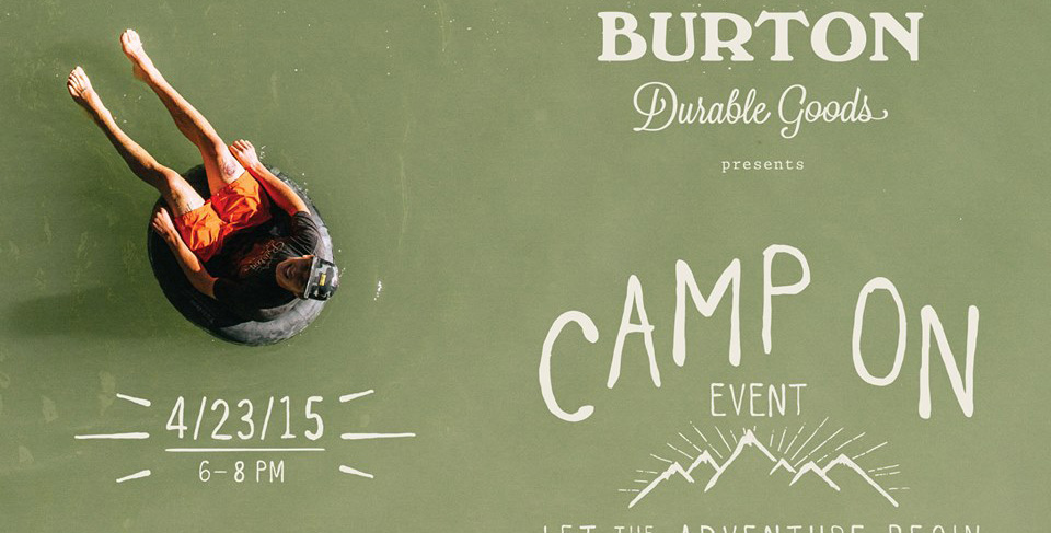 CAMP ON WITH BURTON AT THE NYC FLAGSHIP STORE