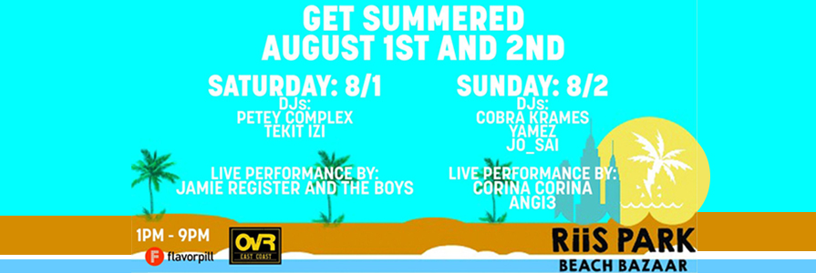 Get Summered This Weekend at RPBB!