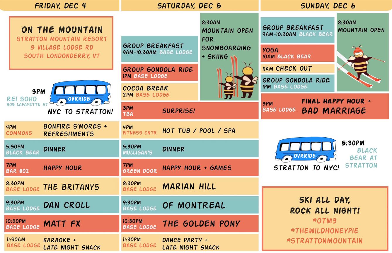 OTM 3 Schedule