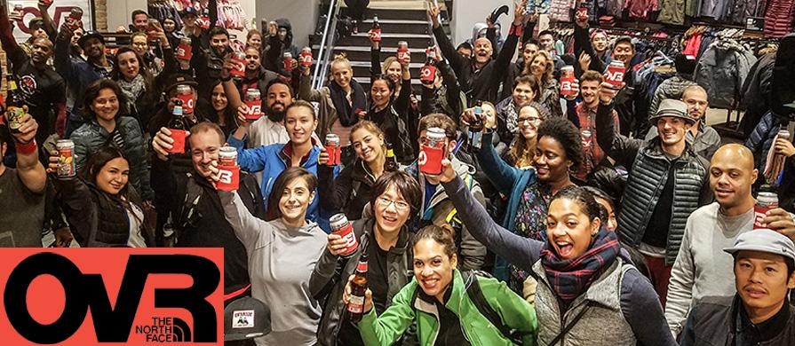 TNF UWS Store Cheers