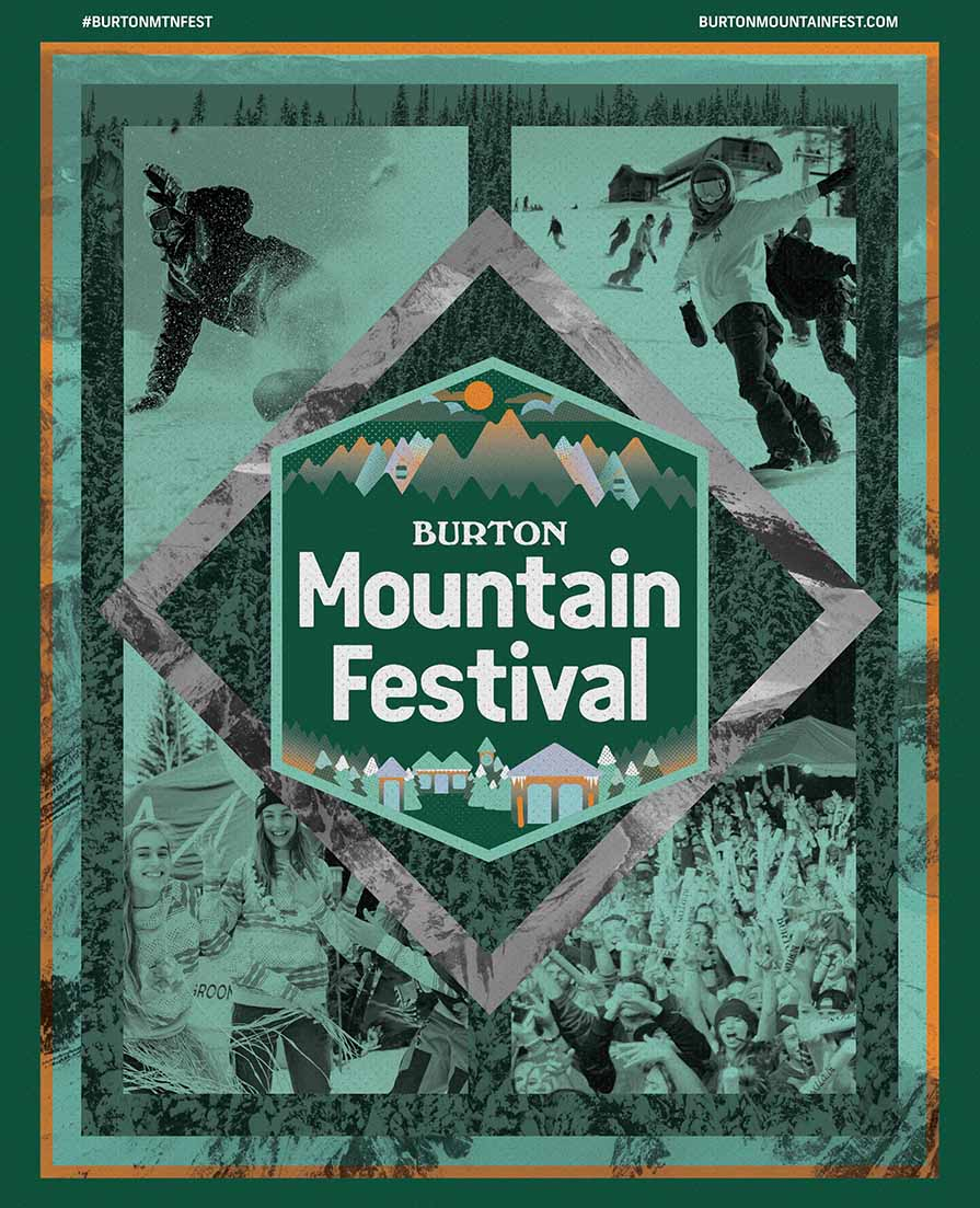 Burton Mountainfest Poster