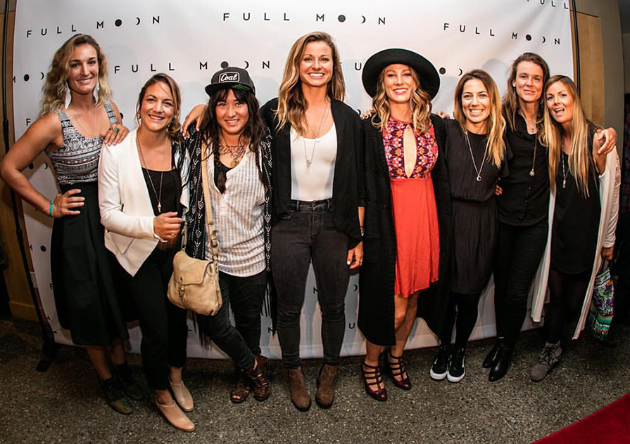The Ladies of the Full Moon Crew at the world Premiere