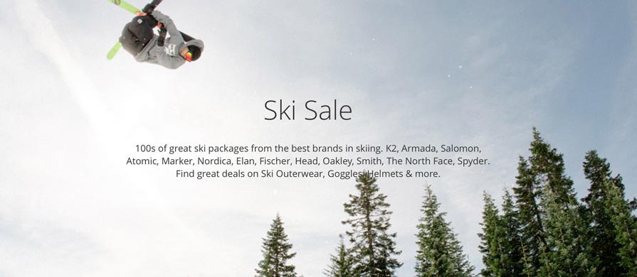 Stadium Ski Sale